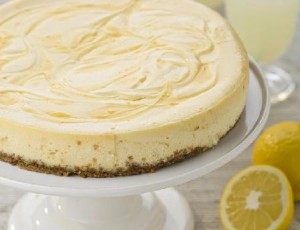 Recipe: Baked Lemon Cheesecake
