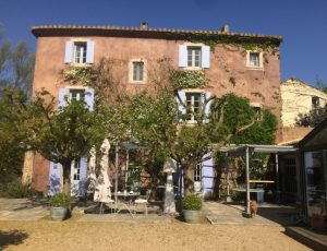 La Bastide Rose, Avignon, Provence, France
