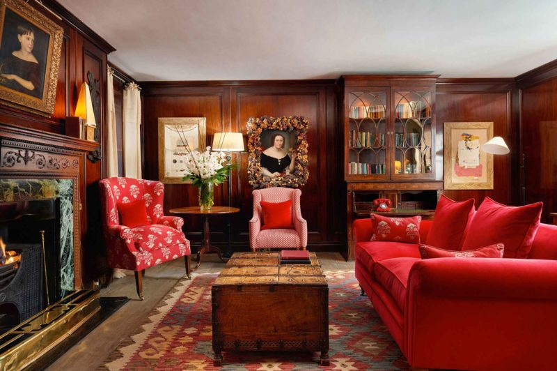 Five-star-hotel-in-South-Kensington-The-Pelham-Hotel-Library