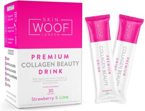 Lockdown skin solutions: Skin Woof Beauty Collagen Drink and Vitamin C Radiance Serum